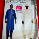 McCalls Pattern # 7536 UNCUT Men's Tunic Drawstring Pants Hat Size Medium Chest 38