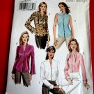 Vogue Pattern # 7906 Misses Blouses/ Blouse Variations Size 18 20 22