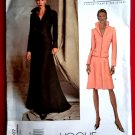 Vogue Pattern # 2607 UNCUT Misses Woman's Jacket Skirt Guy Laroche Paris Original Size 18 20 22