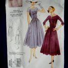 Vogue Pattern # 1044 Misses Retro 1956-57 Dress Size 18 20 22