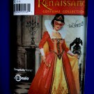 Simplicity Pattern # 9832 UNCUT Misses Costume Renaissance Dress/Gown Size 14 16 18 20