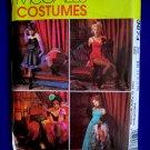 McCalls Pattern # 3674 UNCUT Misses Costume Saloon Dancer Burlesque Bustier Size 14 16 18 20