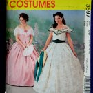 McCalls Pattern # 3597 UNCUT Misses Costume Civil War Dress Gone With The Wind Size 12 14 16 18