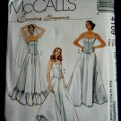 McCalls Pattern # 4109 UNCUT Misses Lined Tops Petticoats Size 12 14 16 18