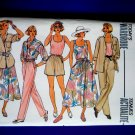 Butterick Pattern # 3247 UNCUT Misses Summer Wardrobe Top Jacket Pants Shorts Size 14 16 18