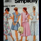 Simplicity Pattern # 7905 UNCUT Misses Summer Dress Back Length Variations Size XS Small Medium