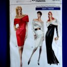 Vogue Pattern # 7357 UNCUT Misses Formal Dress Size 12 14 16