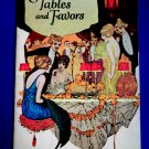Art Deco Vintage 1922 Booklet ~ Tables and Favors ~ Party Decoration Ideas Dennison's