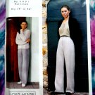 European Pants Pattern by Loes Hinse  Hip 34 inches to 46 inches # 5001 Small Medium Large