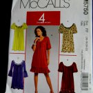 McCalls Pattern # 5750 UNCUT Misses Pullover Dress STRETCH KNITS ONLYS Size 16 18 20 22