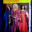 McCalls Pattern # 3663 UNCUT Misses Costume Medieval Gown Dress Size 14 16 18 20