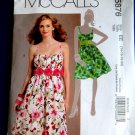 McCalls Pattern # 5876 UNCUT Misses Summer Dress Size 14 16 18 20 OOP