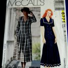 McCalls Pattern # 6771 UNCUT Misses Sailor Dress by Lanz Size 8 10 12