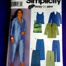 Simplicity Pattern # 9583 UNCUT Misses Top Pants Skirt Size 18 20 22 24