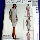 McCalls Pattern # 6946 UNCUT Misses Cardigan Vest Skirt Pants Size 10 12 14