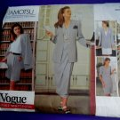 Vogue Pattern # 1166 UNCUT Misses Wardrobe Jacket Dress Top Skirt Size 6 8 10