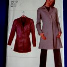 Vogue Pattern # 9910 UNCUT Misses Lined Jacket ---Long Short – Size Small Medium Large XL