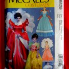 McCalls Pattern # 6629 UNCUT Misses Costume Gown Dress Size Small Medium Large XL