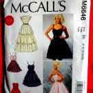 McCalls Pattern # 6646 UNCUT Misses Formal Dress Size 8 10 12 14 16
