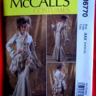 McCalls Pattern # 6770 UNCUT Misses Costume Goth Gibson Jacket Pants Bustle