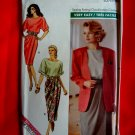 Butterick Pattern # 4732 UNCUT Misses Jacket Top Skirt Size 12 14 16