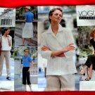 Vogue Pattern # 2262 UNCUT Misses Wardrobe Pants Skirt Top Jacket Size 12 14 16