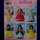 "Simplicity Pattern # 5705 UNCUT 18"" Doll Princess Dress Dresses"