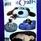 Simplicity Pattern # 7014 UNCUT Dog Begs Small Medium Large