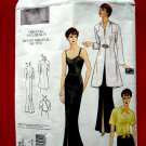Vogue Pattern # 2859 Misses Formal Dress Jacket Size Small ~ Sizes 6 8 10 Retro Vintage 1935