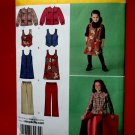 Simplicity Pattern # 2484 UNCUT Girls Jumper Pants Jacket Size 7 8 10 12 14