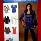 Simplicity Pattern # 2841 UNCUT Misses Blouse / Tunic Size 18 20 22 24