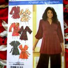 Simplicity Pattern # 3697 UNCUT Misses Knit Top Tunic Size 18 20 22 24 STRETCH KNIT