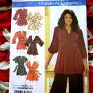Simplicity Pattern # 3697 UNCUT Misses Knit Top Tunic Size 18 20 22 24 STRETCH KNIT