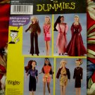 Simplicity Pattern # 7073 UNCUT 11 1/2 Inch Doll Wardrobe Sewing for Dummies