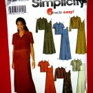Simplicity Pattern # 9861 UNCUT Misses Pull-Over Dress or Jumper and Jacket Size 8 10 12 14