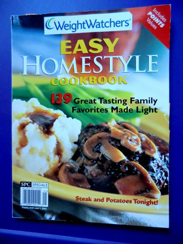 Rare Weight Watchers Magazine Easy HomeStyle Cookbook ~ 139 Recipes