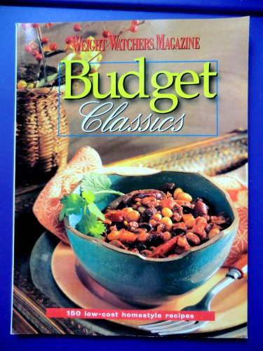 Weight Watchers Budget Classics Cookbook Magazine 150 recipes