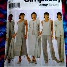 Simplicity Pattern # 5071 UNCUT Misses Woman's Wardrobe Size 26 28 30 32