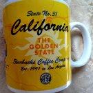 Starbucks Mug California Golden State Collage Series Coffee Cup 20oz Vintage 1999