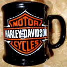 Harley Davidson 20 oz Ceramic Black Coffee Mug Biker/Motorcycle