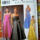 Simplicity Pattern # 5238 UNCUT Misses Formal Long Gown Dress McClintock Size 8 10 12 14