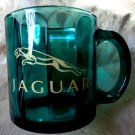 Jaguar Glass Mug Made in USA Luxury Car