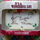 It's a Wonderful Life Rare Ornament ~ George Lasso's The Moon ~ Porcelain