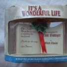 Rare It's a Wonderful Life Rare Ornament Tom Sawyer Book from Clarence!