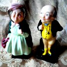 Royal Doulton Miniature Mr Pickwick & Sairey Gamp (Dickens Character) Vintage