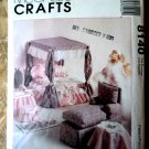 McCalls Pattern # 8140 UNCUT Doll Bed and Furniture