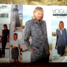 Vogue Pattern # 2090 UNCUT Misses Wardrobe by Tamotsu Dress Top Skirt Pants Size 8 10 12