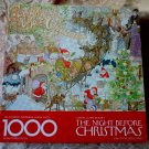 Springbok Clement Moore's THE NIGHT BEFORE CHRISTMAS 1000 Piece Puzzle Complete #PZL5902