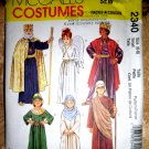 McCalls Pattern # 2340 UNCUT Child Costume Nativity Size Small 6 8