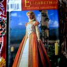 Simplicity Pattern # 8881 UNCUT Misses Costume Elizabethan Dress Size 6 8 10 12